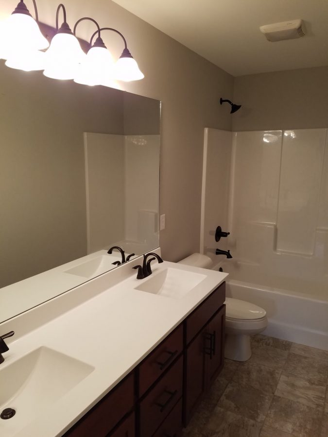 Custom Bathrooms by CNR Homes in Belleville, IL