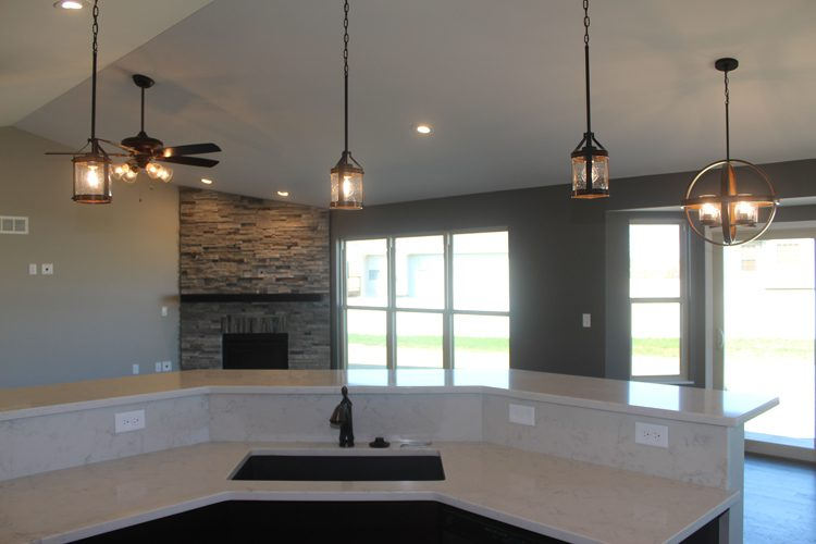 Custom Kitchen Remodels and Ranch Style Homes by CNR Homes, Belleville
