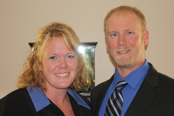 Rachel and Chad of CNR Homes in Belleville, IL